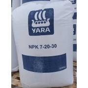 Yara NPK 7-20-30(S)+B+Zn BB 500kg