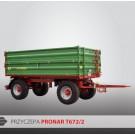 Przyczepa PRONAR T672/2 - 10400 kg