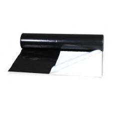 Folia 150 triosilo 12 m biało-czarna