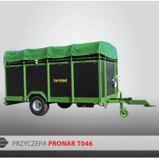 Przyczepa do przewozu zwierząt PRONAR T046 - 3700 kg