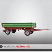 Przyczepa PRONAR T653 - 4000 kg