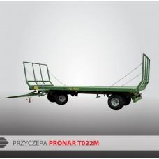 Przyczepa platformowa PRONAR T022M - 7360kg