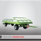 Przyczepa platformowa PRONAR T022 - 7360 kg