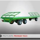 Przyczepa platformowa PRONAR T023 - 11300 kg