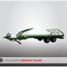 Przyczepa platformowa PRONAR T024M - 8700 kg