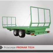 Przyczepa platformowa PRONAR T024 - 8900 kg