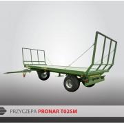 Przyczepa platformowa PRONAR T025M - 9040 kg