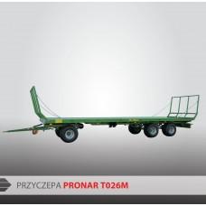 Przyczepa platformowa PRONAR T026M - 13720 kg