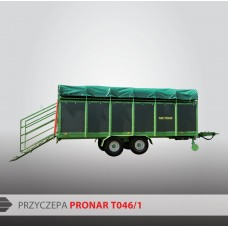 Przyczepa do przewozu zwierząt PRONAR T046/1 - 5360 kg