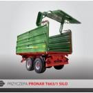Przyczepa PRONAR T663/1 - 10000 kg