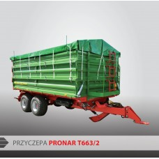 Przyczepa PRONAR T663/2 - 16300 kg
