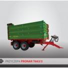 Przyczepa PRONAR T663/3 - 10000 kg