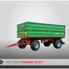 Przyczepa PRONAR T672/1 - 10000 kg