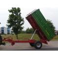 Przyczepa PRONAR T654/1 - 4990 kg